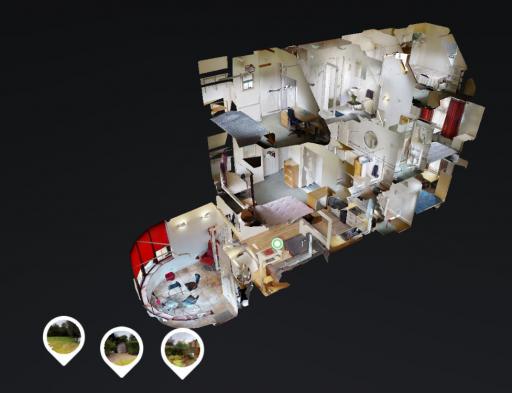 Doll house virtual tour view