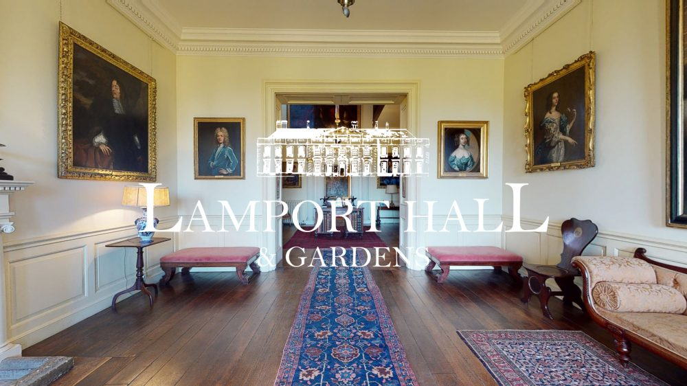 Lamport Hall Virtual Tour, Stately Home, Heritage